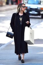 DIANNA AGRON Out Shopping in New York 04/12/2016