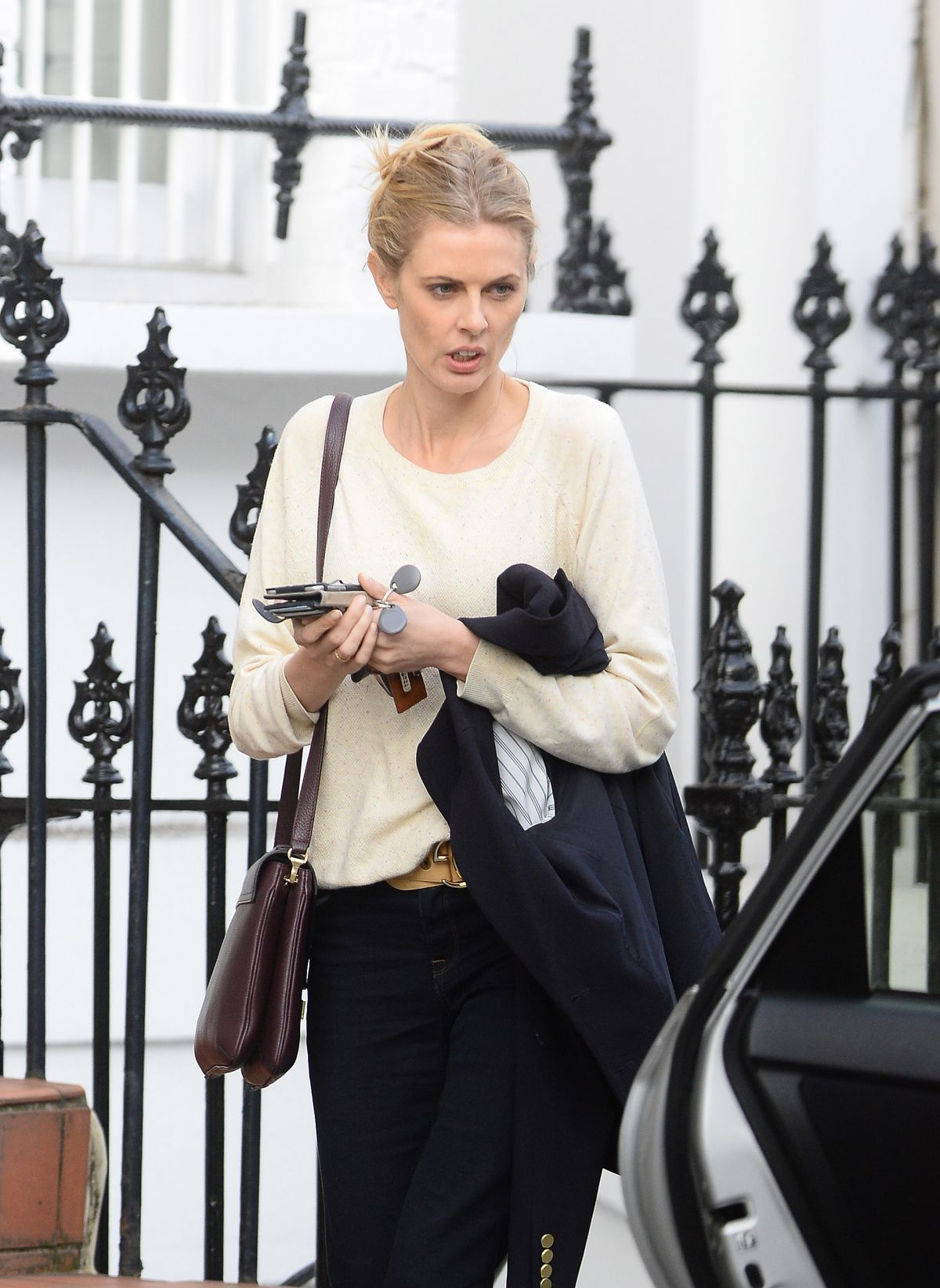 DONNA AIR Out and About in Chelsea 04/14/2016