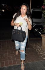 DOROTHY WANG at Madeo Restaurant in Hollywood 04/20/2016