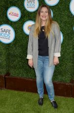 DREW BARRYMORE at Safe Kids Day in Los Angeles 04/24/2016