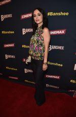 ELIZA DUSHKU at Banshee Season 4 Premiere in Beverly Hills 03/31/2016