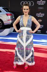 ELIZABETH HENSTRIDGE at Captain America: Civil War Premiere in Los Angeles 04/12/2016