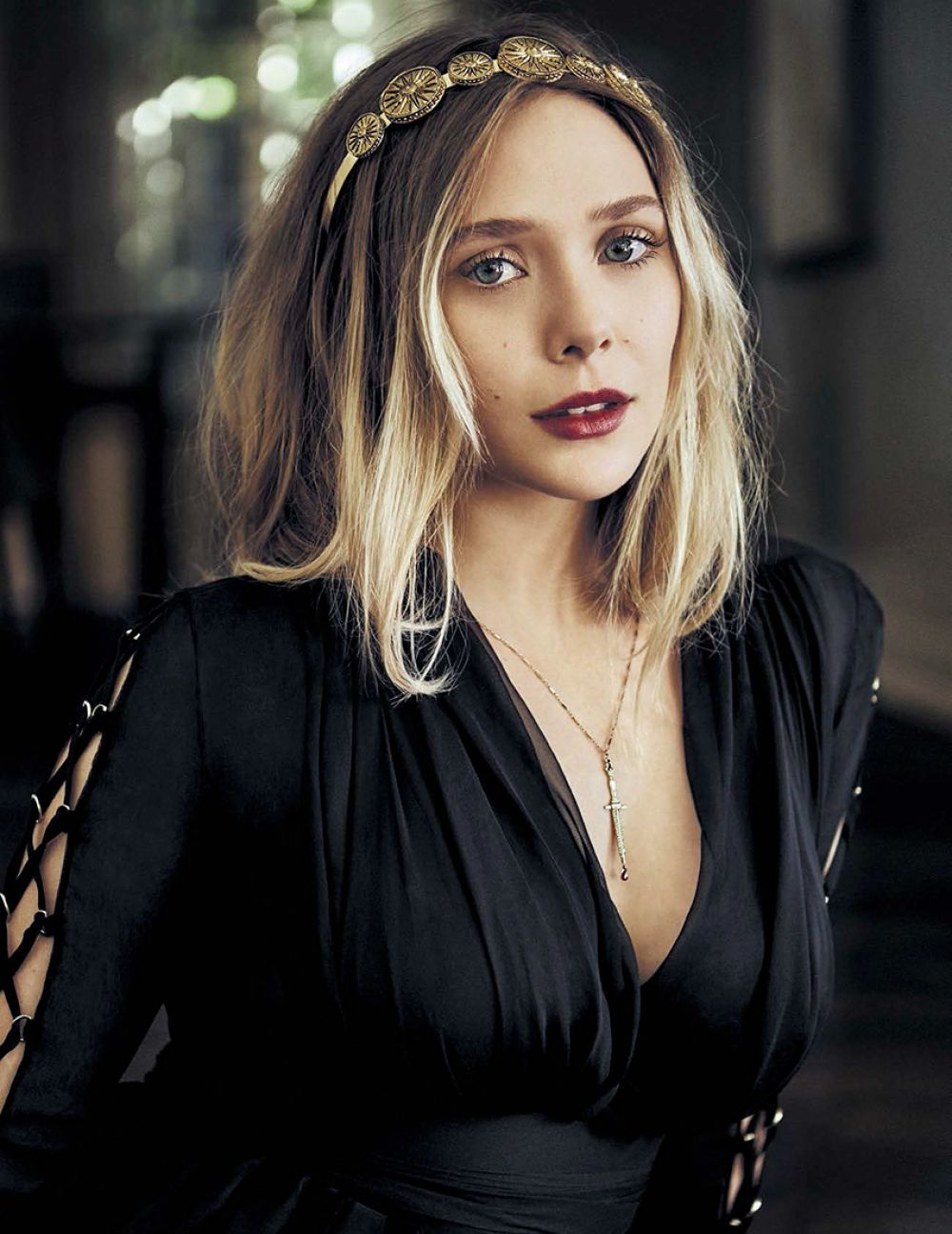 ELIZABETH OLSEN in Vanity Fair magazine, Italy April 2016 Issue