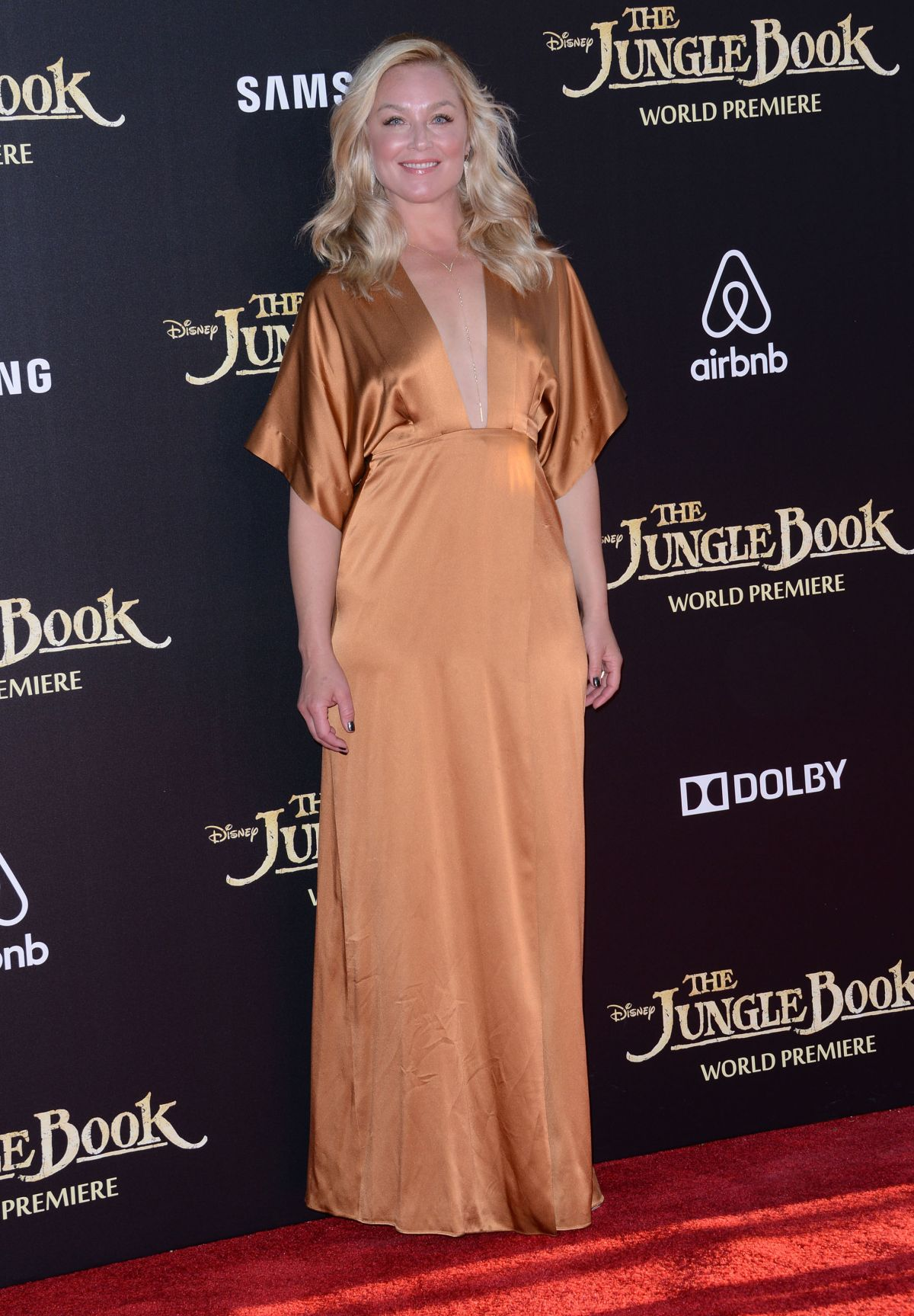 ELIZABETH ROHM at 'The Jungle Book' Premiere in Hollywood 04/04/2016