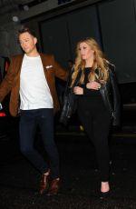 ELLA HENDERSON Leaves Mahiki Nightclub in London 04/02/2016