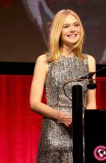 ELLE FANNING at Amazon Studios Presentation at Cinemacon 2016 in Las Vegas 04/14/2016