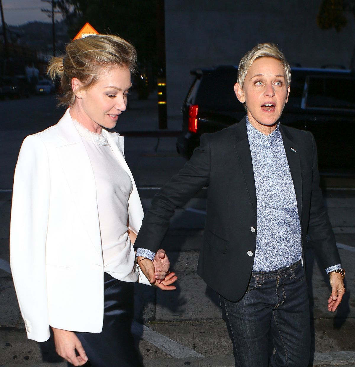 ELLEN DEGENERES and PORTIA DE ROSSI at Craig