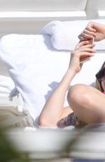 ELLIE GOULDING in Bikini at a Beach in Miami 04/26/2016
