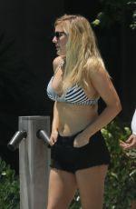 ELLIE GOULDING in Bikini at a Beach in Miami 04/28/2016