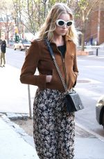 ELSA HOSK Out and About in New York 04/16/2016