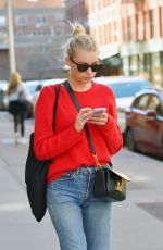 ELSA HOSK Out for Lunch in New York 04/20/2016
