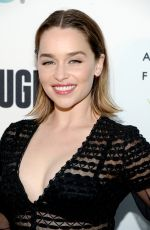 EMILIA CLARKE at Annenberg Space for Photography Presents Refugee in Century City 04/21/2016