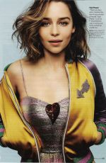 EMILIA CLARKE in Glamour Magazine, May 2016 Issue