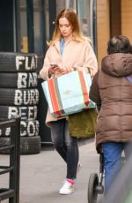 EMILY BLUNT Out in New York 04/08/2016