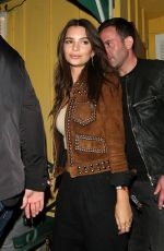 EMILY RATAJKOWSKI at Guns n' Roses Concert at The Troubadour in West Hollywood 04/01/2016