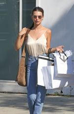 EMILY RATAJKOWSKI Out Shopping in Beverly Hills 04/12/2016