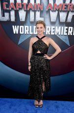 EMILY VANCAMP at Captain America: Civil War Premiere in Los Angeles 04/12/2016