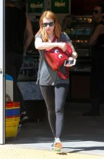 EMMA ROBERTS at a Gas Station in Los Angeles 04/01/2016