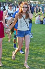 EMMA ROBERTS at Coachella Valley Music and Arts Festival in Indio 04/15/2016