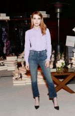 EMMA ROBERTS at Imagine Vince Camuto Launch Event in Beverly Hills 03/31/2016