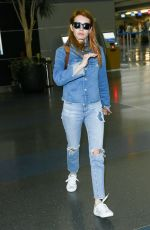 EMMA ROBERTS at JFK Airport in New York 04/28/2016
