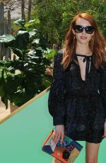 EMMA ROBERTS at Zoeasis Presented by Zoe Report and Guess in Palm Springs 04/16/2016