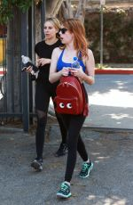 EMMA ROBERTS Heading to a Gym in West Hollywood 04/01/2016