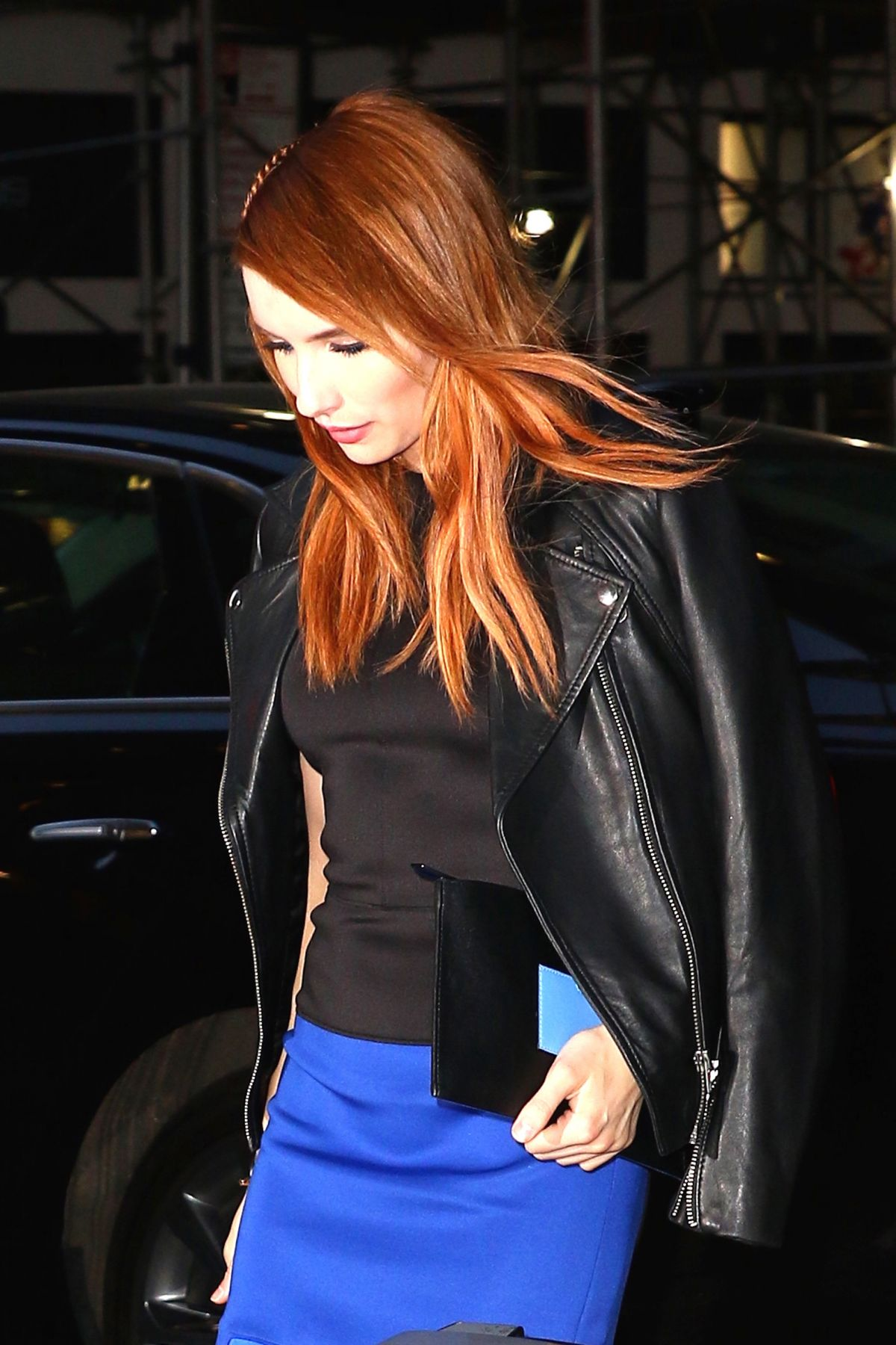 EMMA ROBERTS Night Out in New York 04/20/2016