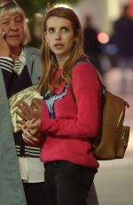 EMMA ROBERTS Night Out in West Hollywood 04/11/2016