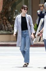 EMMA STONE Out and About in Malibu 04/24/2016