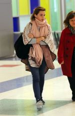 EMMA WATSON at JFK Airport in New York 04/03/2016