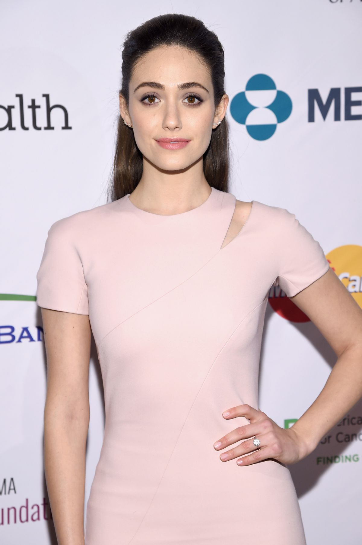 EMMY ROSSUM at Stand Up to Cancer's NY Standing Room Only Evenet 04/09/2016