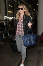 ERIN ANDREWS at Los Angeles International Airport 04/01/2016
