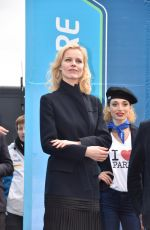 EVA HERZIGOVA at Podium Ceremony of FIA Formula E Paris ePrix 04/23/2016