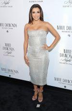 EVA LONGORIA at Elizabeth Taylor White Diamonds 25th Anniversary Celebration in New York 04/05/2016