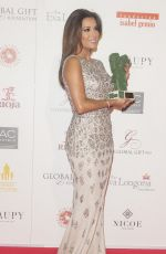 EVA LONGORIA at Global Gift Gala in Madrid 04/02/2016