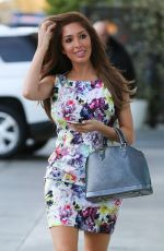 FARRAH ABRAHAM at Painted Nail in West Hollywood 04/27/2016