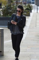 FAYE BROOKES Out and About in Manchester 04/26/2016