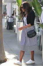 GABRIELLE UNION at Villa Blanca in Beverly Hills 04/14/2016