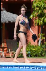 GEMMA ATKINSON in Bikini at a Pool in Puerto Banus 03/31/2016
