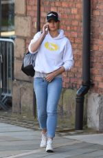 GEMMA ATKINSON in Tight Jeans Out in Manchester 04/19/2016