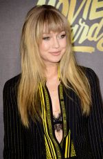 GIGI HADID at 2016 MTV Movie Awards in Burbank 04/09/2016