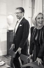 GILLIAN ANDERSON at Gabriela Hearst Dinner in Celebration of Gillian Anderson in New York 04/18/2016