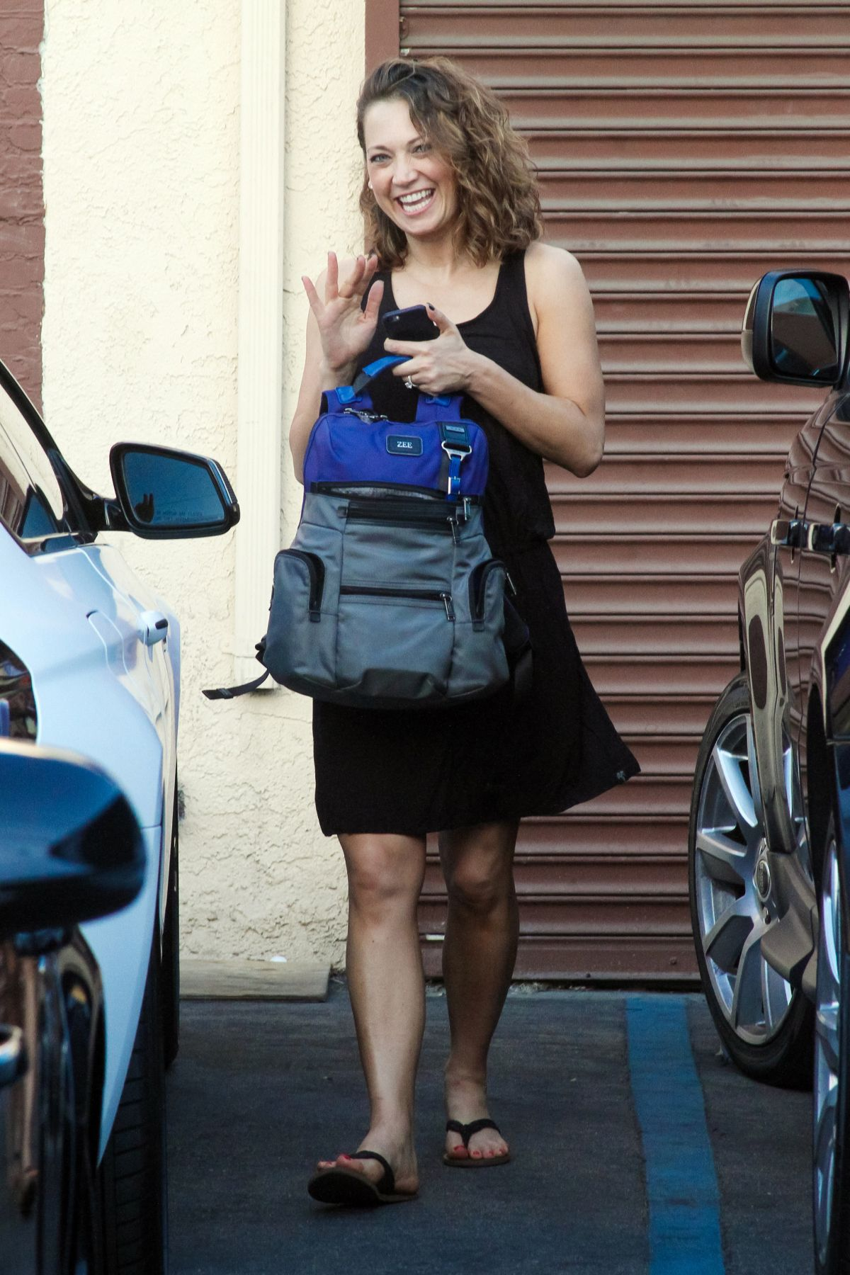 GINGER ZEE at Dancing with the Stars Studio in Hollywood ...