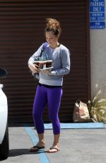 GINGER ZEE at DWTS Rehearsals in Hollywood  04/23/2016