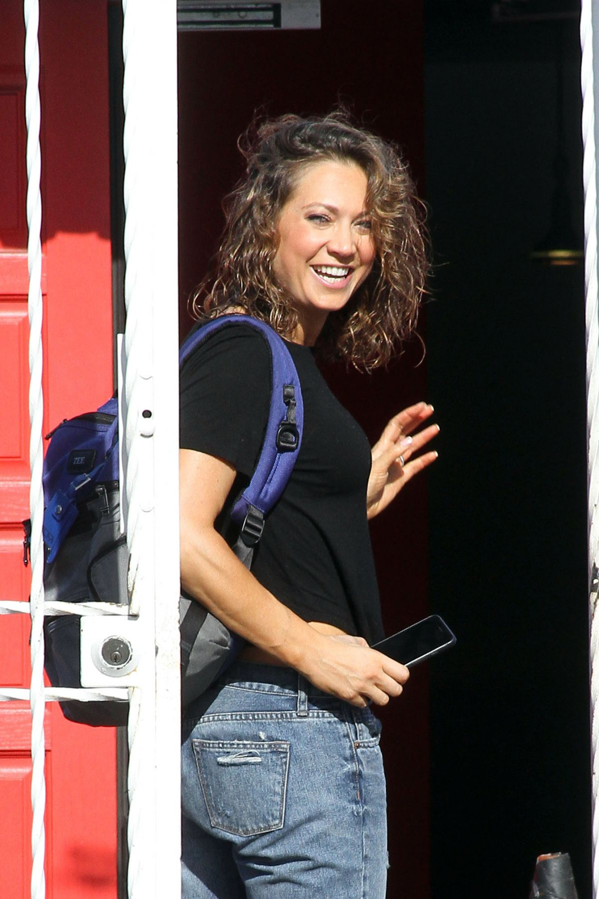 GINGER ZEE at DWTS Studio in Hollywood 04/19/2016