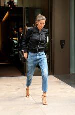 GISELE BUNDCHEN in Jeans Out in New York 04/28/2016