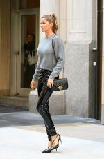 GISELE BUNDCHEN Leaves Her Apartment in New York 04/27/2016