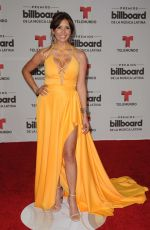 GISELLE BLONDET at Billboard Latin Music Awards in Miami 04/28/2016