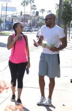 GLORIA GOVAN Out for Drink in Los Angeles 03/16/2016